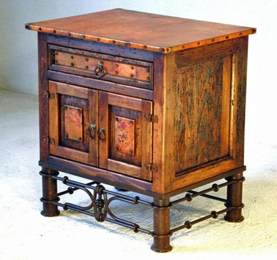 Reclaimed Copper End Table Or Nightstand With Pablo Base. Cheap Round Coffee Tables. Desk Hutch Ideas. Pedestal Table. Mini Desk Lamps. Custom Desk Chairs. Desk Pad Target. Student Desks For Home. Service Desk Analyst Jobs London