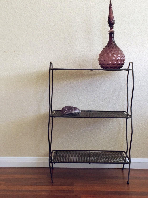 Mid century modern plant stand/book shelf – Haute Juice