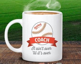 Baseball Coach, Baseball Mug, Baseball Coach Gift, Baseball, Baseball Gifts, Baseball Wedding, Baseball Party, Coach Thank You, Keepsake