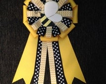 """Bumble Bee Baby """"Mommy-to- Bee"""" Shower Pin/ Corsage/ Keepsake"""