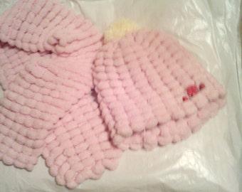 pink/cream 2 piece