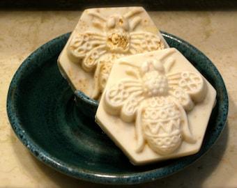 Milk and honey soap - Oatmeal soap - Natural soap