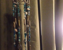Candle Holder Handmade Sea Shell Wind Chime