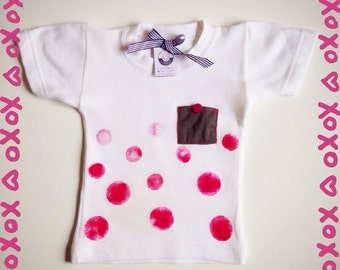 Boy/girl t-shirt made handmade custom, select the pois that you want!