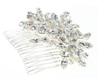 Crystal Hair Comb, Bridal Hair Comb, Hair Comb, Bridal Hair Accessory