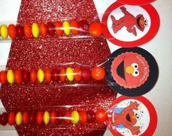 Elmo Inspired Party Favor