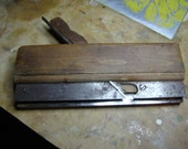 Antique Wooden Plane - Shaper