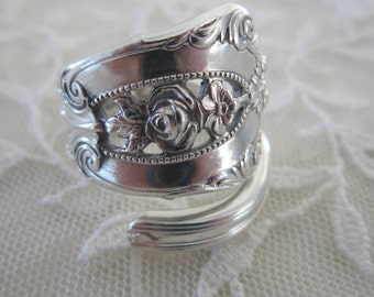 Rosepoint Spoon Ring