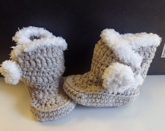 booties of baby for winter