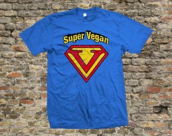 Super Vegan T Shirt 100% cotton - 2025