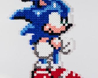 Sonic the Hedgehog Hama Bead Sprite
