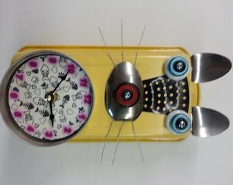 Cat Clock - Customized