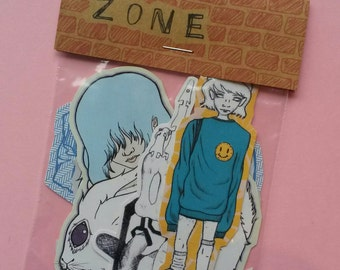 Zone Sticker Pack