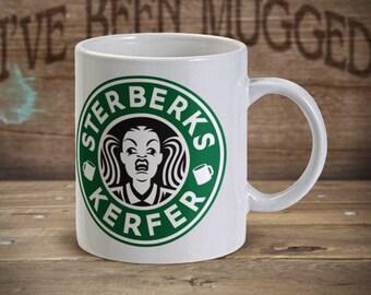 Sterberks Kerfer MG0007 Ermahgerd Meme Starbucks Coffee Parody Coffee Mug