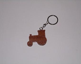 Tractor Keychain