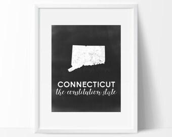 Connecticut Printable