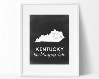 Kentucky Printable