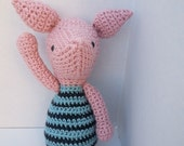PDF Crochet Pattern Amigurumi Piggy