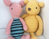 PDF Crochet Pattern Amigurumi Besties Set