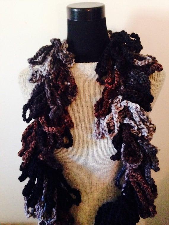 Crochet Scarf Pattern Pdf Poppy Loop Anthropologie