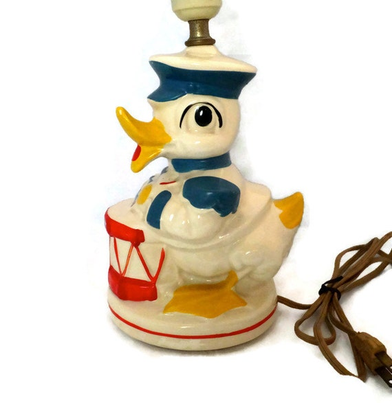 Baby Nash S Vintage Nautical Nursery: Vintage Nursery Lamp Nautical Duck Nursery Decor