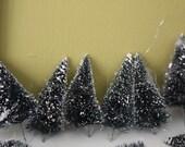 Forest of Bottle Brush Trees.  Lot of 35+