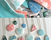 Custom Recycled Pyrex Jewelry from your broken Pyrex