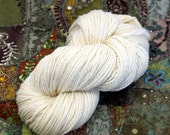 Handspun Yarn Natural Falkland Wool 144g 260 Yards Chunky HSF02