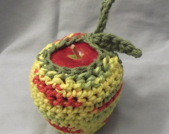 Cotton Fruit Cozy - yellow verigade