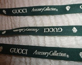 Green Gucci Ribbon for Crafting 1 Yard