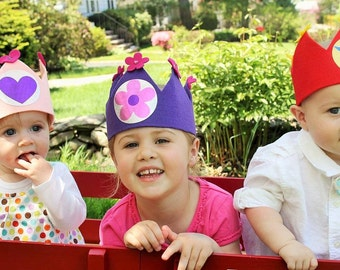 Princess or Prince Birthday/Costume/Dress Up/Make Believe: Crown