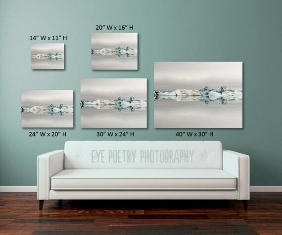 Nature photography canvas art jellyfish by for Beistelltisch 60 x 40