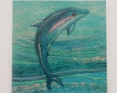Dolphin Printed Greetings Card