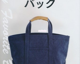 Cotton Friend My Favorite Bags n3854 -  Japanese Craft Book