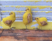 Flash Sale Primitive Easter Yellow Chicks