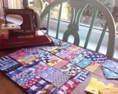 """36 - 2"""" Vintage Precut Charms 1930s-40s Cottons - Quilt Squares"""