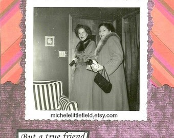 A Good Friend Will Bail You Out Of Jail Funny Greeting CArd
