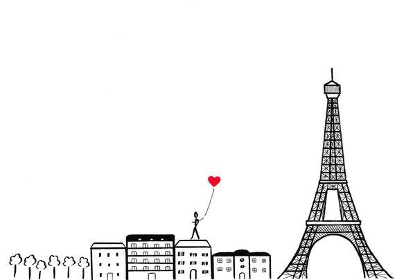 Paris je taime panorama de paris france avec tour eiffel - Image tour eiffel a imprimer ...