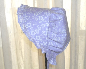 Sunbonnet Lavender Floral Silhouettes Toddler 9 to 24 months LIMITED