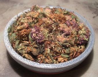 Red Clover Flowers Dried, Love, Protection, Money, Fidelity, Sucess, Magical Herbs, Spell and Ritual Work Curio