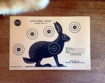 Vintage Jack Rabbit Target No. 11 from Sears
