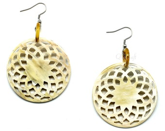 Horn Earrings - Q10457