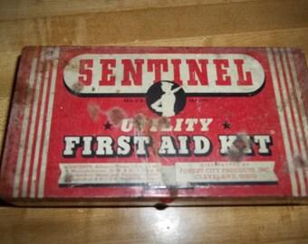 Vintage Sentinel First Aid Kit