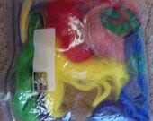Large Bag of Colored Doll Hair