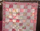 Pink Baby Rose Quilt