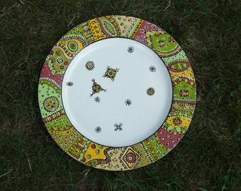 13'' Rimmed Platters