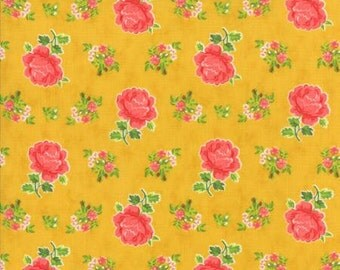Fancy Hailey - By Lily Ashbury - Fabric For Moda - Golden - 1 Yard - 9.95 Dollars