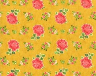 Fancy Hailey - By Lily Ashbury - Fabric For Moda - Golden - 1 Yard - 9.95 Dollars