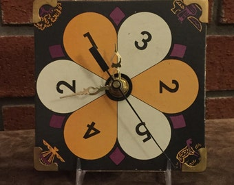 Vintage Game Spinner Clock