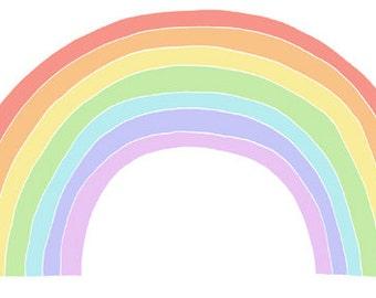 Little Rainbow Print
